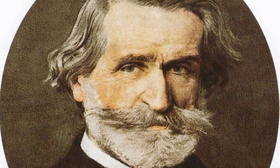 Giuseppe Verdi Portrait
