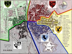 Fonte: Wikipedia, Le porte di Parma - Palio di Parma
