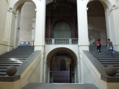 Scalone Pilotta Galleria Nazionale
