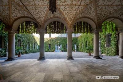 Corte interna Rocca di Soragna