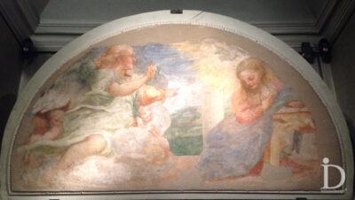 Affresco del Correggio asportato