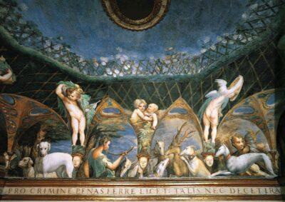 Stufetta Diana e Atteone Parmigianino